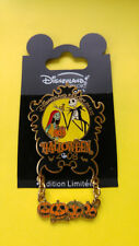 Disney Pin Disneyland Paris Halloween 2008 Jack Sally LE