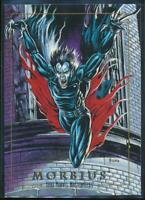 1992 Marvel Masterpieces Trading Card #60 Morbius