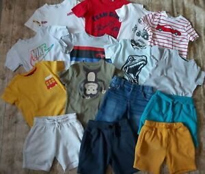 Boys Summer Bundle Of Clothes Age 3-4 Years 15 items