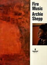 LP  ARCHIE SHEPP	fire music	US 1965 EX