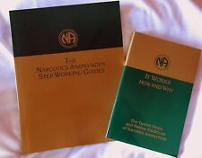 "Narcotics Anonymous: ""It Works - How and Why"" & ""Step Working Guides""   NEW"
