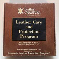 LEATHER MASTER - LEATHER CARE AND PROTECTION PROGRAM - FOR TYPES A & P BRAND NEW