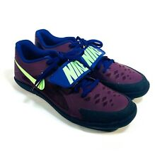Nike Zoom Rival SD 2 Shot Put Throwing Shoes Sz 11.5 Track Bordeaux 685134-600