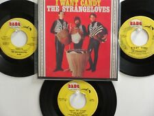 LOT OF 4 'THE STRANGELOVES/THE McCOYS' HIT 45's+1P(Copy)[I Want Candy] THE 60's!