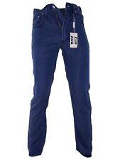 Iceberg Jeans Uomo Blu Denim dritto P/e Made Italy Taglia IT 44 W 30