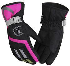 Women Gloves Winter Warm Windproof Waterproof Cycling Ski Full Finger Gloves New
