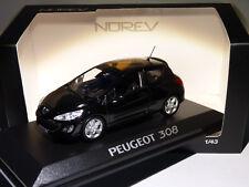 Pe25a Voiture 1/43 NOREV Peugeot 308 175 THP 3 portes noire