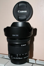 Zoom Canon EF-S 10-18 mm IS STM