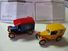Matchbox Collectible Brewery Cars-NORTH COAST & SUN VALLEY Brewing Company-1996