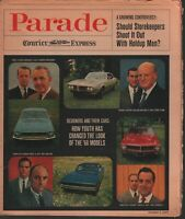 Parade Courier Express October 1 1967 Ford Eugene Bordinat Chrysler 020320AME