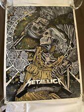 Metallica NOTHING ELSE MATTERS Edition numérotée Poster Dan Dippel sold out