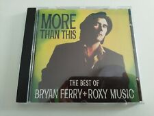 MUSIC COMPACT DISC MORE THAN THIS CD (ORIGINAL)