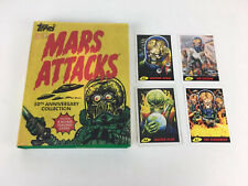 Mars Attacks 50th Anniversary Collection Book With Collectable Trading Cards