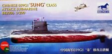 "Bronco Models 1:200 ""Sung"" Class 039G1 Attack Submarine Model Kit"