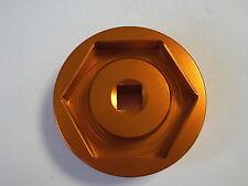 KTM 1290 R SUPER DUKE  Radmutterschlüssel Hinterrad orange eloxiert
