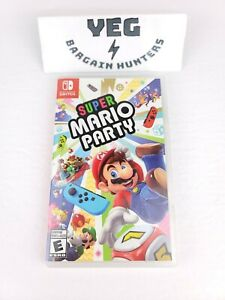 Super Mario Party (Nintendo Switch, 2018) Complete Tested Canadian Seller
