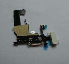 OEM GENUINE White Headphone Audio Dock Charging USB Port Flex for iPhone 5 5G