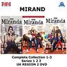 Miranda - Series 1-3 Complete Collection Season 1 2 3 New Sealed UK Region 2 DVD