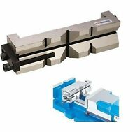 Aufsatzbacke Prismabacke mit Werkstückanschlag 100-105 mm