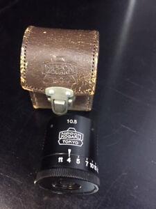 Nikon Tokyo 10.5cm Black viewfinder for Nikon rangefinder finder Nippon Kogaku