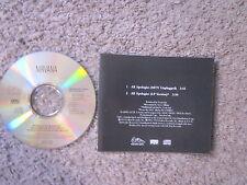 "NIRVANA ""ALL APOLOGIES"" 1994 MTV+LP VERS. UNPLAYED ALT ROCK RADIO PROMO CD RARE!"