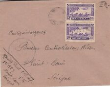 1940s Senegal #C7(2) on cover, Military use; animal topical  *d