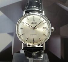 Vintage 1961 Men's Omega Automatic Seamaster 24 Jewels Wristwatch 1Year Warranty