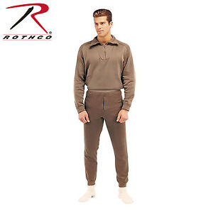 Rothco 6248 ECWCS Poly Bottoms - Brown