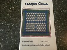 "Warm and Cuddly Quilt Pattern by Hooper Creek 53"" x 57"""