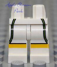 NEW Lego Minifig Boy/Girl WHITE LEGS Yellow Black Green Tennis Guy Pants Shorts