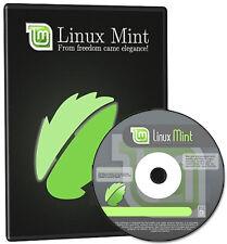 Linux Mint 18.3 (Sonya) Live/Install Bootable Startup DVD + Free Random CD