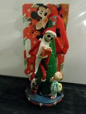 Disney Sketchbook Nightmare Before Christmas Jack Ornament lights up Rare HTF