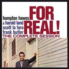 Hampton Hawes - For Real: Complete Session [New CD] Bonus Tracks