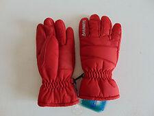 NWT DOLOMITE Guanti L Bambino Kid Rosso Junior Neve Sci Ski Snow Red