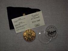 pièce bronze CERES TB monnaie de paris ECU europe 1992 en très bon état