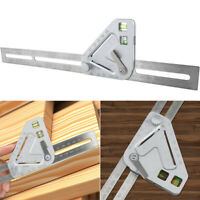 DIY Multi-function Measuring Roof Revolutionizing Carpentry Tool Angle Rulers
