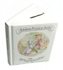 1990 Frederick Warne & Co ~ Royal Albert ~ Beatrix Potter Ceramic Moneybox
