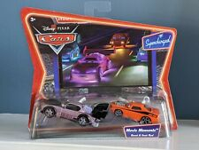 "Disney Pixar Cars Boost & Snot Rod Supercharged ""Movie Moments"" NEW Diecast"