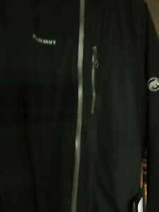 "Mammut Herren Regenjacke""Rainspeed Advanced HS"" Gr. XL Black VK 239,99€"