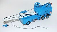 Dinky toys Meccano 972 20 TON LORRY MOUNTED CRANE  Blue Diecast Vintage Toy