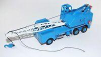Dinky toys Meccano 972 20 TON LORRY MOUNTED CRANE Rare Blue Diecast Vintage Toy