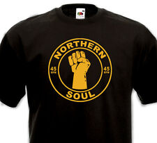 T-shirt NORTHERN SOUL - Tamla Motown Stax Atlantic 50's 60's Mod Rhythm'n'Blues