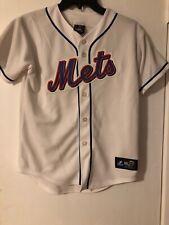MLB Boys NEW YORK METS JERSEY MAJESTIC size Medium M NICE!