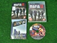 SONY PLAYSTATION 3 'MAFIA II' GAME **COMPLETE WITH MANUAL + MAP **PS3