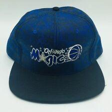 Vintage Orlando Magic Official NBA Blue Mens Cap Hat SnapBack