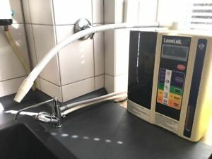 Smarte Armatur: praktischer Anschluß für Kangen Geräte, Wasserionisierer