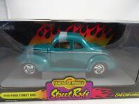 1:18 Ertl - #32097 STREET RODS 1940 Ford Rod - RAREZA - NUEVO / embalaje