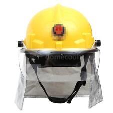 Fire Fighting Helmet Safety Fire Helmet With Amice Firefighting Fire Proof J1F1