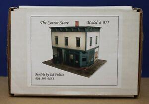 Ed Fulasz #11 HO The Corner Store Craftsman Kit Urethane version