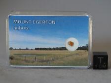 Mount Egerton - very rare, uncommon aubrite from Australia - meteorite from 1941